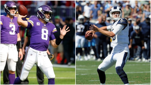 Rams, Vikings offer a contrast in quarterback spending and strategy