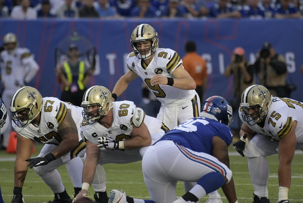 """The New Orleans Saints took a chance in 2006 on quarterback Drew Brees. """"There was nervousness on the team about his shoulder,"""" Adam Zimmer said."""