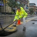 Minneapolis sewer maintenance supervisor Sean Oberg removed a sewer cover to begin a cleaning method of removing accumulated fat, oil and grease out o