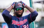 Twins infielder Miguel Sano (22) ] MARK VANCLEAVE ï mark.vancleave@startribune.com * The first day of full-squad workouts at Twins spring training in