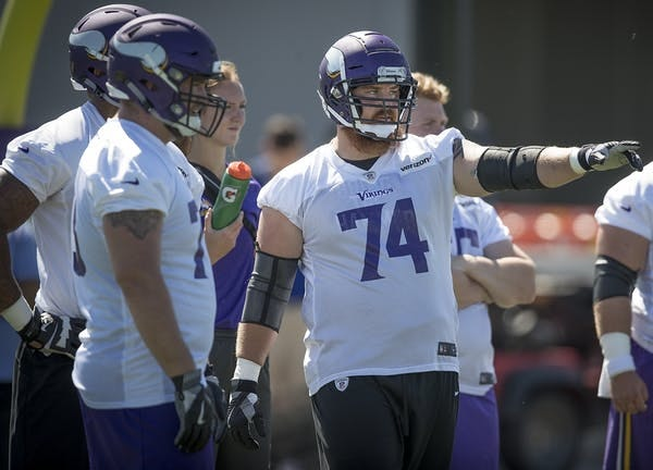 Mike Remmer returned to practice this week.