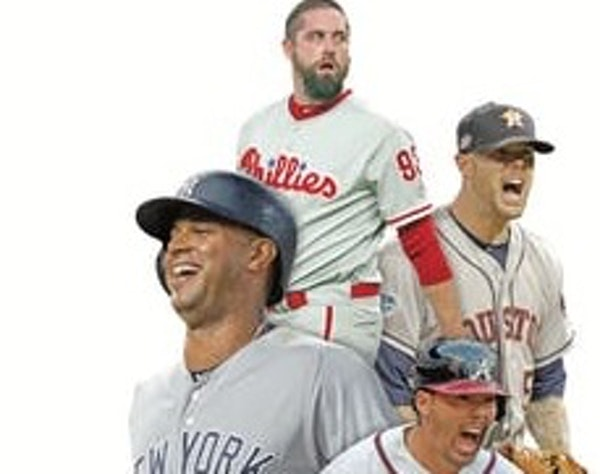 Among the former Twins scattered about the majors are Aaron Hicks, Yankees; Kurt Suzuki, Braves; Ryan Pressly, Astros; and Pat Neshek, Phillies.