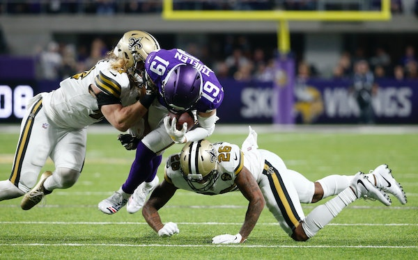 Thielen: 'We can't make those critical mistakes we made'