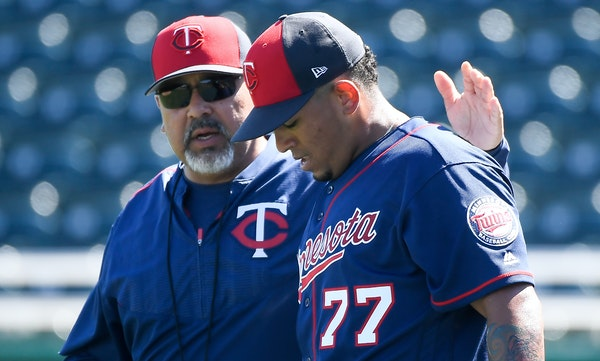 Eddie Guardado (left) is among the five coaches let go by the Twins.