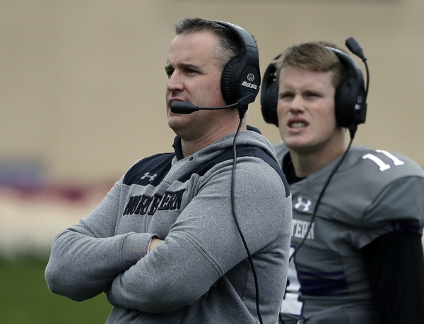Pat Fitzgerald's Northwestern team looked like a non-factor in the Big Ten West after a 1-3 start to the season with home losses to Duke and Akron.