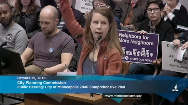 Watch: Hundreds sound off on the Minneapolis 2040 Plan