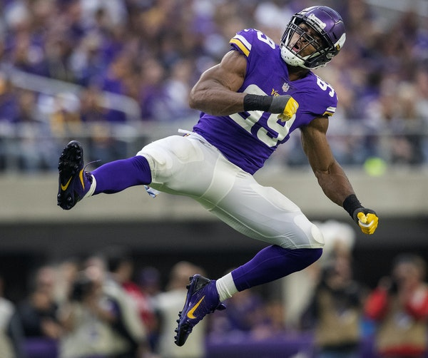 Listen: On Danielle Hunter's rise, and many Vikings-Jets connections