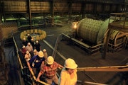 PolyMet Mining Corp. proposes to use the old LTV taconite facility to process copper-nickel ore.
