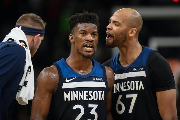 """Taj Gibson said the Timberwolves """"have to move forward"""" now that Jimmy Butler has been granted his wish and shipped to Philadelphia."""