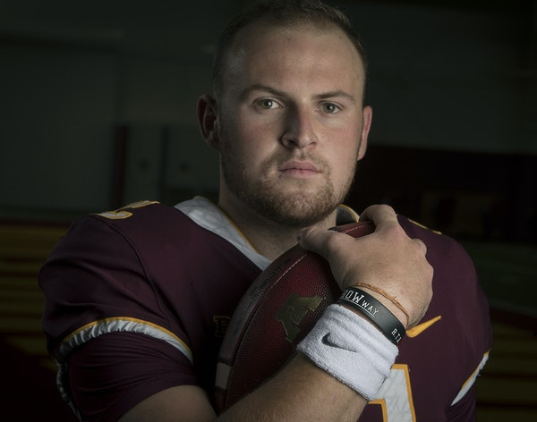 By studying and observing diligently as a Gophers backup, redshirt freshman Tanner Morgan was ready when called to start.