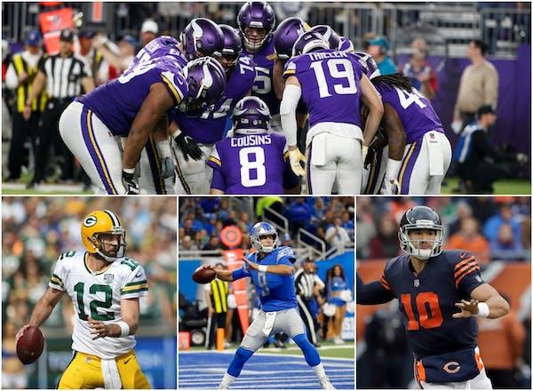 Vikings' defense of NFC North (finally) begins in earnest