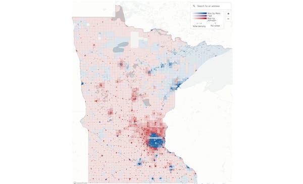 How Minnesota voted for governor, neighborhood by neighborhood