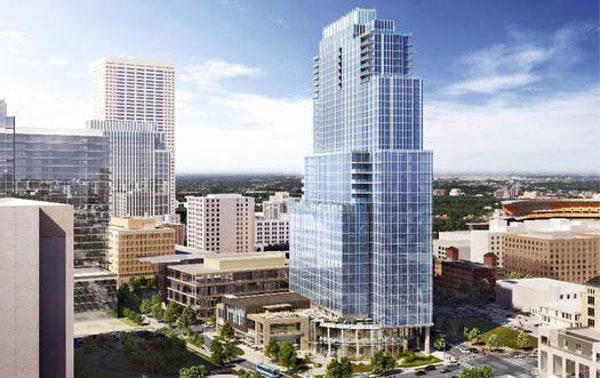 This is a rendering of the proposed Gateway Tower from June 2018.