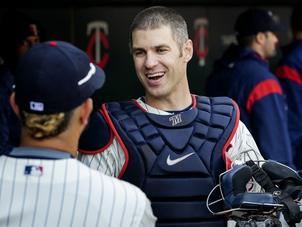 Joe Mauer played his final game on Sept. 30.