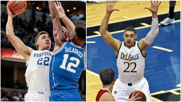Reid Travis is hoping for a trip to the Final Four in Minneapolis with Kentucky.