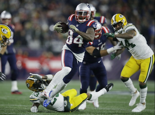 Cordarrelle Patterson ran against the Packers on Nov. 4.