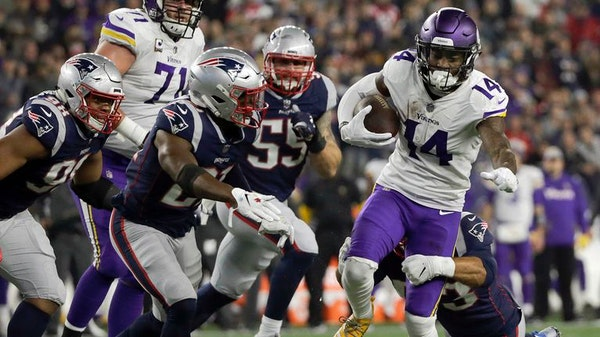 Missed chances in New England lead to dud from Cousins and receivers