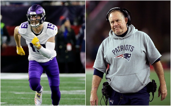 The Belichick battles: Confrontation with Thielen was hardly the first