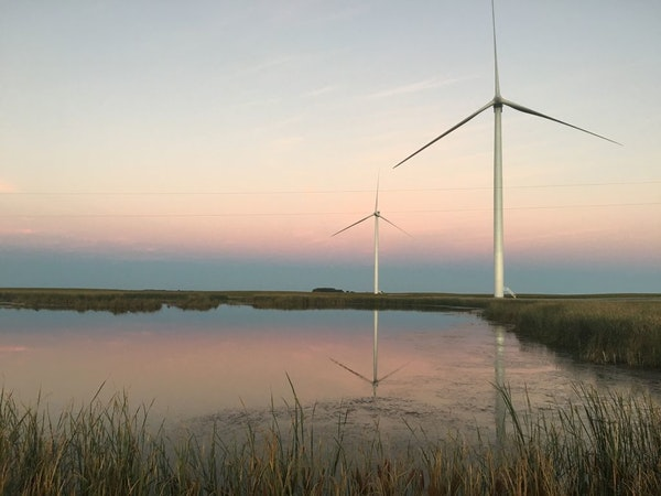 By 2030, the Minneapolis-based utility pledges to reduce carbon emissions by 80 percent from 2005 levels in the eight states it serves.