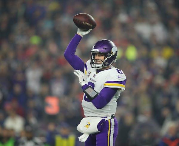 Kirk Cousins on how Patriots slowed down Vikings