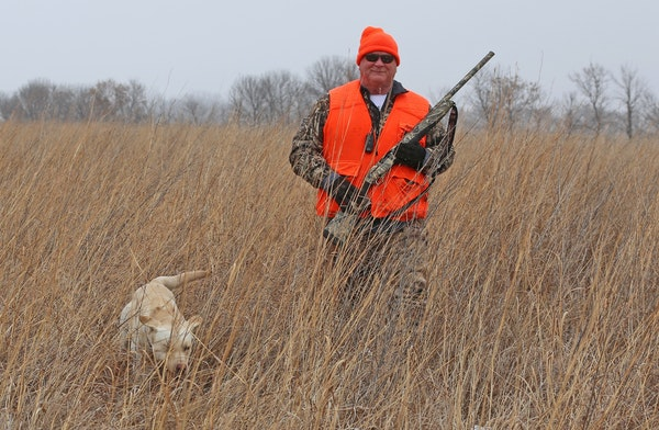 Randy Schmiesing has converted much of his farmland land to wildlife cover. But he, along with other Minnesota farmers, still experiences water proble
