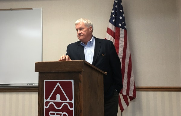 Rep. Collin Peterson, D-Minn., said it's becoming harder to write and pass a farm bill, the law Congress writes every five years to set incentives and