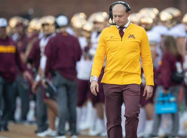 Gophers football coach P. J. Fleck fired his longtime friend and defensive coordinator, Robb Smith, on Sunday in what might have been a difficult pers