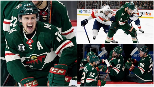 The newly formed line of Zach Parise, Charlie Coyle and Nino Niederreiter has been huge for the Wild in its last two games.