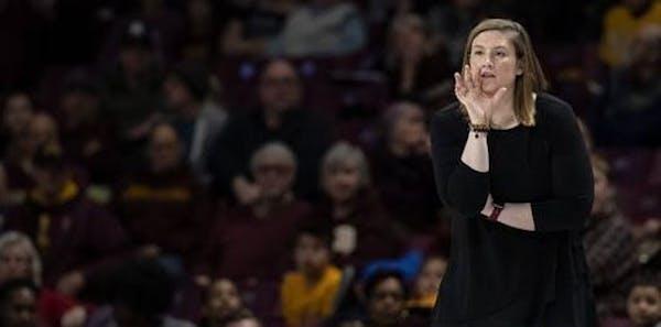 Gophers coach Lindsay Whalen