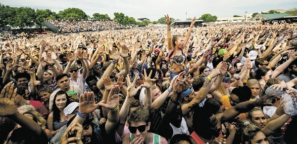 More than 30,000 fans filled the Minnesota State Fairgrounds this year for Soundset, now the biggest hip-hop fest around, but probably not Migos' fa