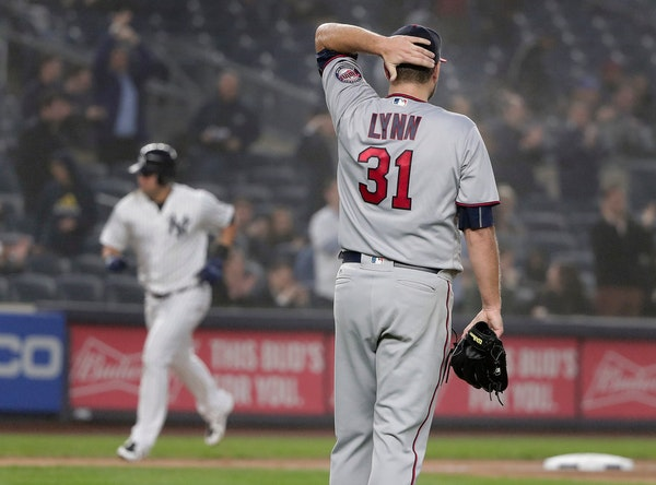 On average, Lance Lynn's 18 starts in nine-inning games have lasted 3 hours, 18 minutes -- 15 minutes longer than the rest of the Twins' nine-inning