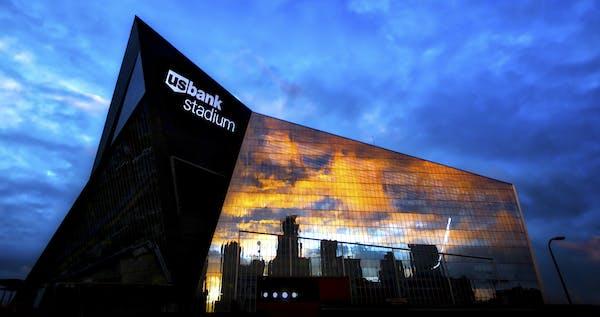 U.S. Bank Stadium - Exterior and construction images. ] US Bank Stadium - Vikings brian.peterson@startribune.com Minneapolis, MN - 06/30/2016