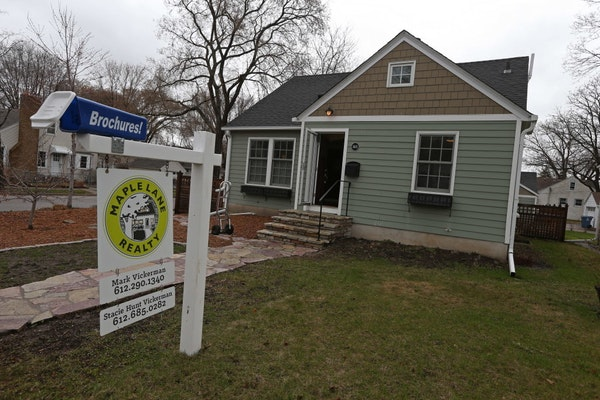 Karen and Mark Swoverland moved to an apartment after selling their house in south Minneapolis. The frustration continues for house buyers. During Apr