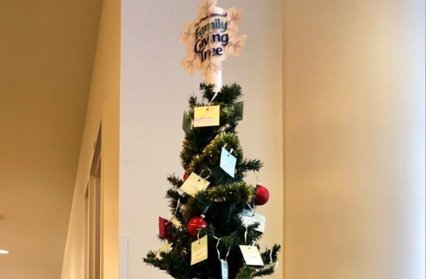 The state Department of Agriculture has a giving tree in its St. Paul office to provide Christmas presents for farmers and their families who are havi