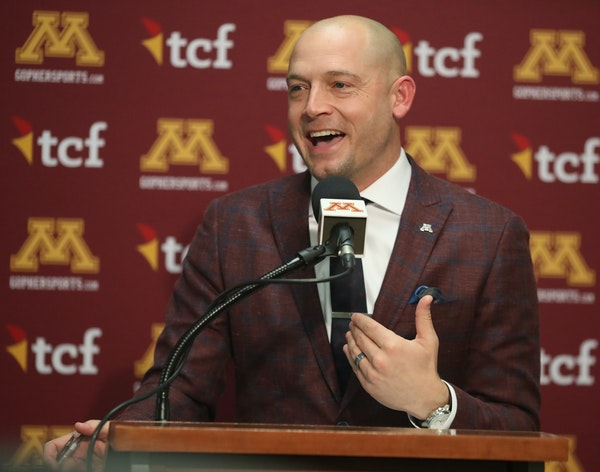 Gophers football coach P.J. Fleck announced the team's 2019 signing class on Wednesday.