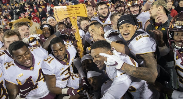 After 15 years Minnesota took back the Paul Bunyan's Axe after they defeated Wisconsin 37-15 at Camp Randall Stadium