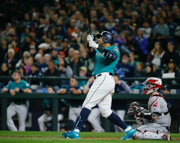 Nelson Cruz, watching a walkoff homer against Cleveland in September 2017, agreed to a one-year, $14.3-million deal with the Twins on Thursday. The si