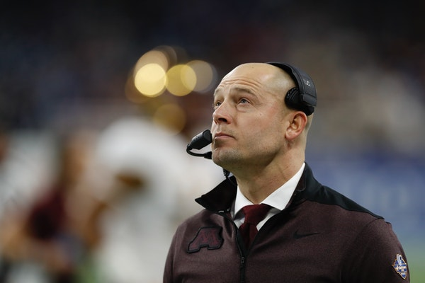 After coach P.J. Fleck turned the defense over to Joe Rossi in early November, the Gophers allowed 14.8 points per game.