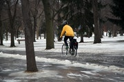 Northern Minnesota gets more than foot of snow; metro mostly spared