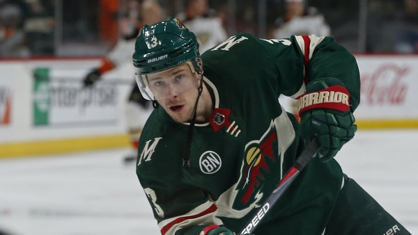Wild forward Charlie Coyle, warming up as a center on Thursday, is returning to wing after the team traded for Victor Rask. How many times has Coyle h
