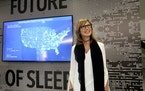 Shelly Ibach, Sleep Number president and CEO, hopes the NFL initiative will yield data to help players' health and wellness through improved sleep.