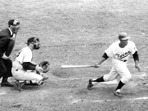 Lenny Green, the Twins center fielder when the team began playing in Minnesota in 1961, died Sunday morning at age 86.