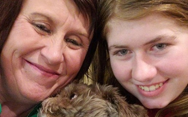 """Jayme Closs, right, with her aunt Jennifer Smith in a photo posted Friday to the """"Healing for Jayme Closs"""" Facebook page, which has closely tracked Ja"""