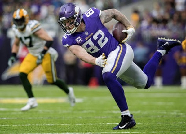 Vikings grades: Rudolph, Cook filled underwhelming roles