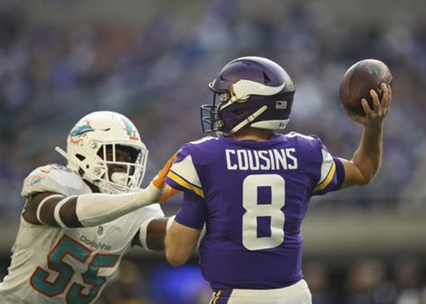 Vikings grades: Cousins' season was a bust when it mattered the most
