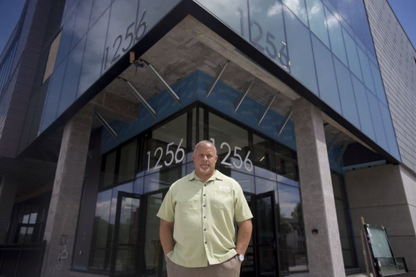 Ravi Norman, Thor Companies CEO, shown last year outside the company's new headquarters.