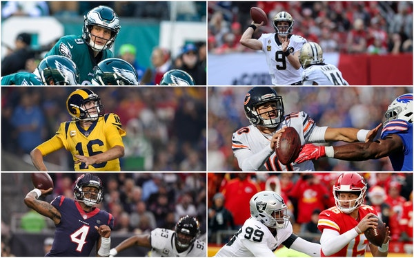 Don't like the NFL playoff field? History says wait a year