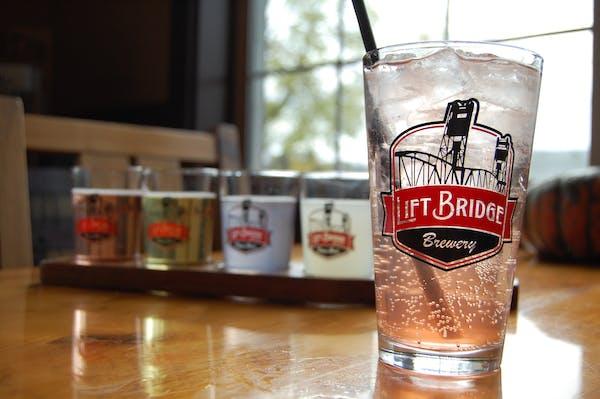 Lift Bridge Brewery in Stillwater now makes hard seltzer.
