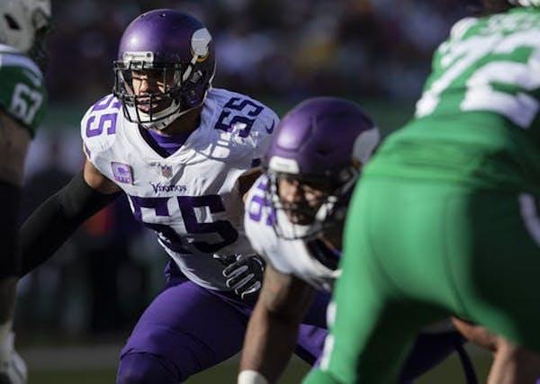 Vikings grades: Linebacker Barr's season leaves you wanting more
