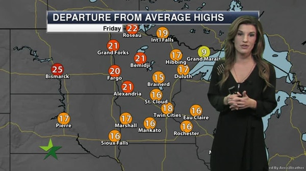 Evening forecast: Low of 29; freezing fog possible late